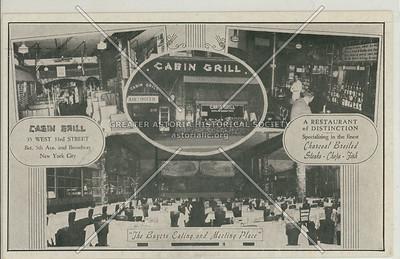 Cabin Grill, 35 W 33 St, NY