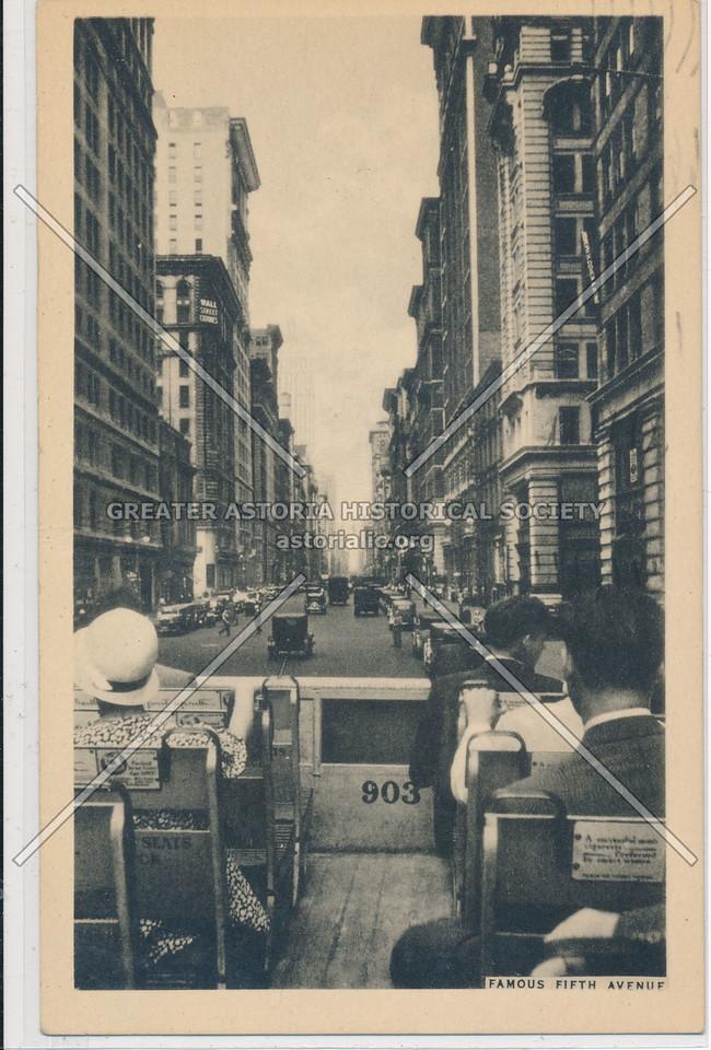 Famous 5th Ave (Tour Bus 1934)