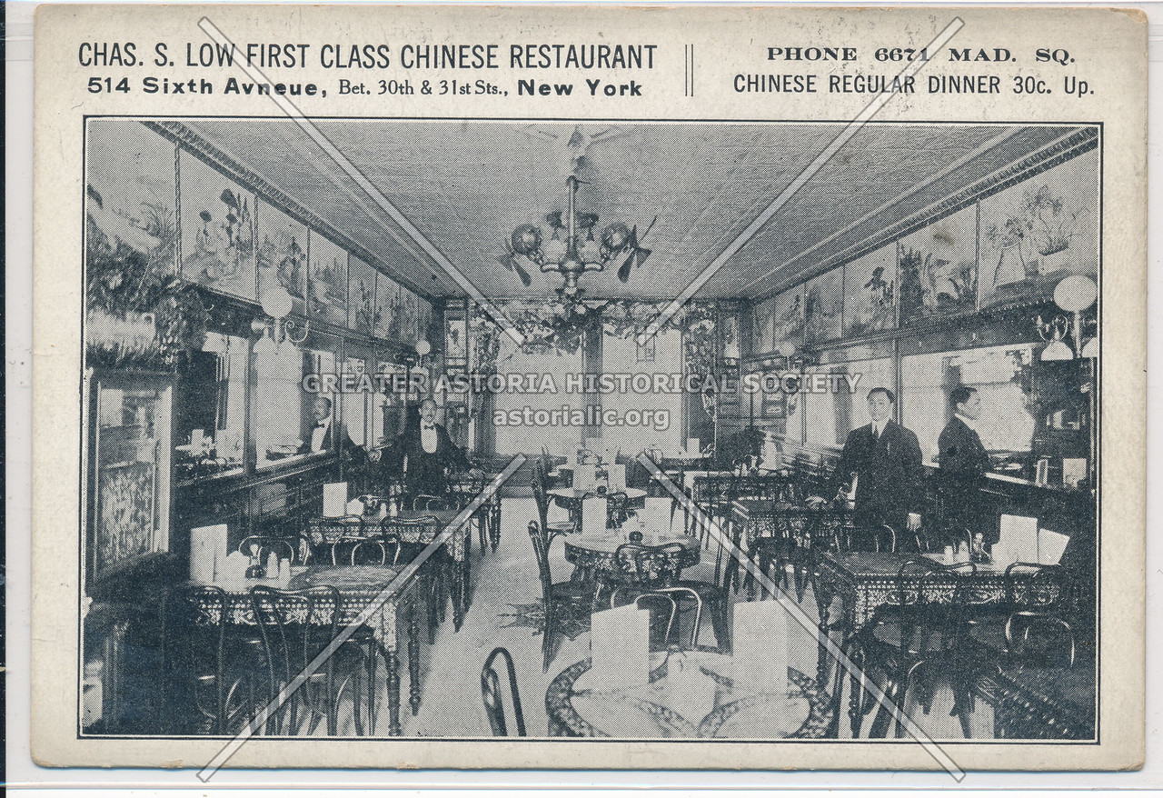 Chas. Low Chinese Rest., 514 6th Ave, NYC