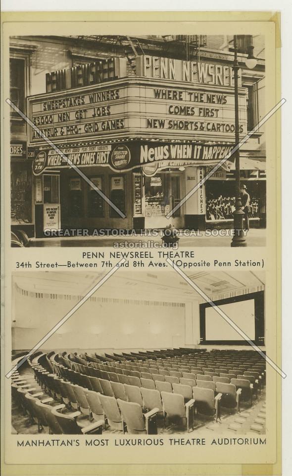 Penn Newsreel, 34th St, NY