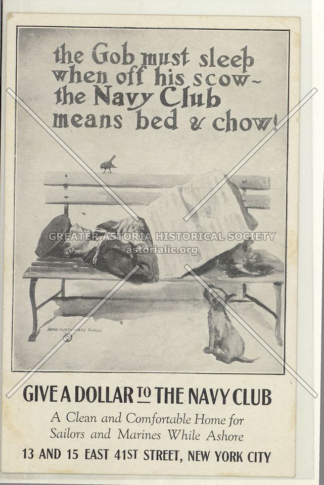 The Navy Club, 13 E 41st St, NYC