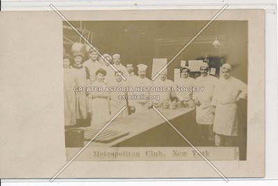 Staff, Metropolitan Club, NYC