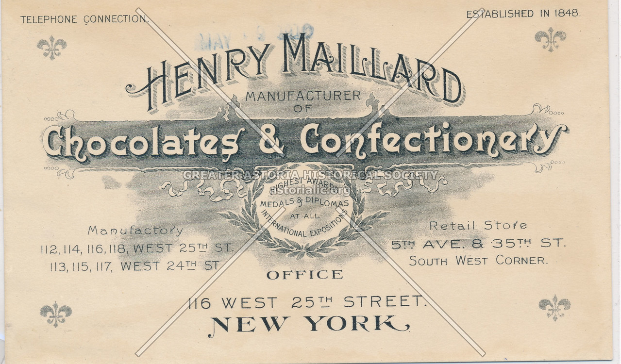 Henry Mallard, Manufacturer Of Chocolates & Confectionery