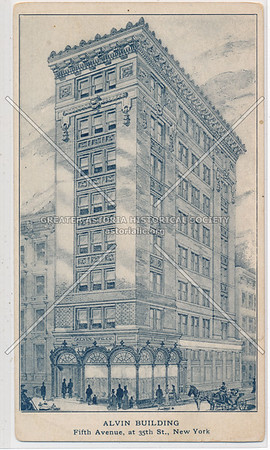 Alvin Building, 5th Ave at 35th St, NY
