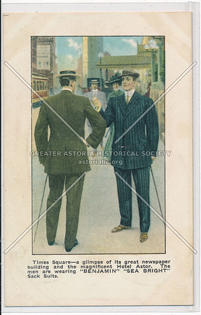 Men's Suit Ads (c. 1910)