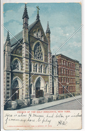 Church of the Holy Innocents, 128 W 37 St, NYC