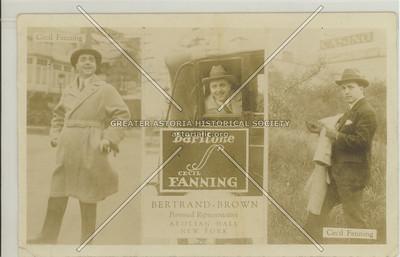 Cecil Fanning, baritone, Aeloian Hall