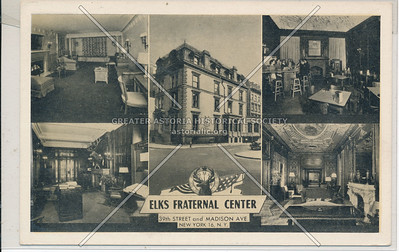 Elks Fraternal Center, 39 St & Madison Ave, NYC