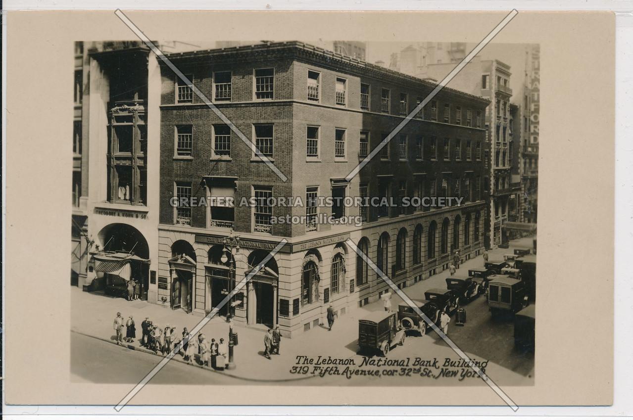 Lebanon Nat. Bank, 319 5th Ave, NYC