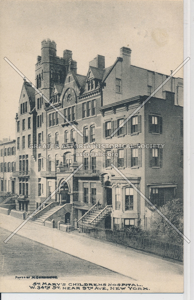 St Mary's Children's Hospital, 34th St & 9th Ave, NYC
