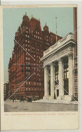Knickerbocker Trust Building, 5th Ave & 34th St looking S