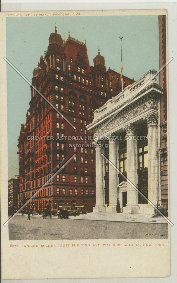 Knickerbocker Trust Building, 5th Ave & 34th St looking S