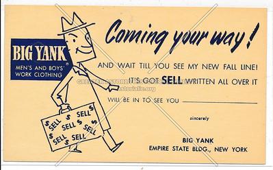 Big Yank Work Clothing, Empire State Building, NY