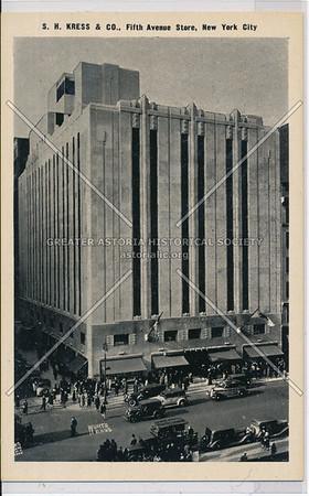 S. H. Kress & Co., Fifth Avenue Store, New York City