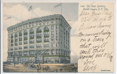 The Saks Building, Herald Square, N.Y. City