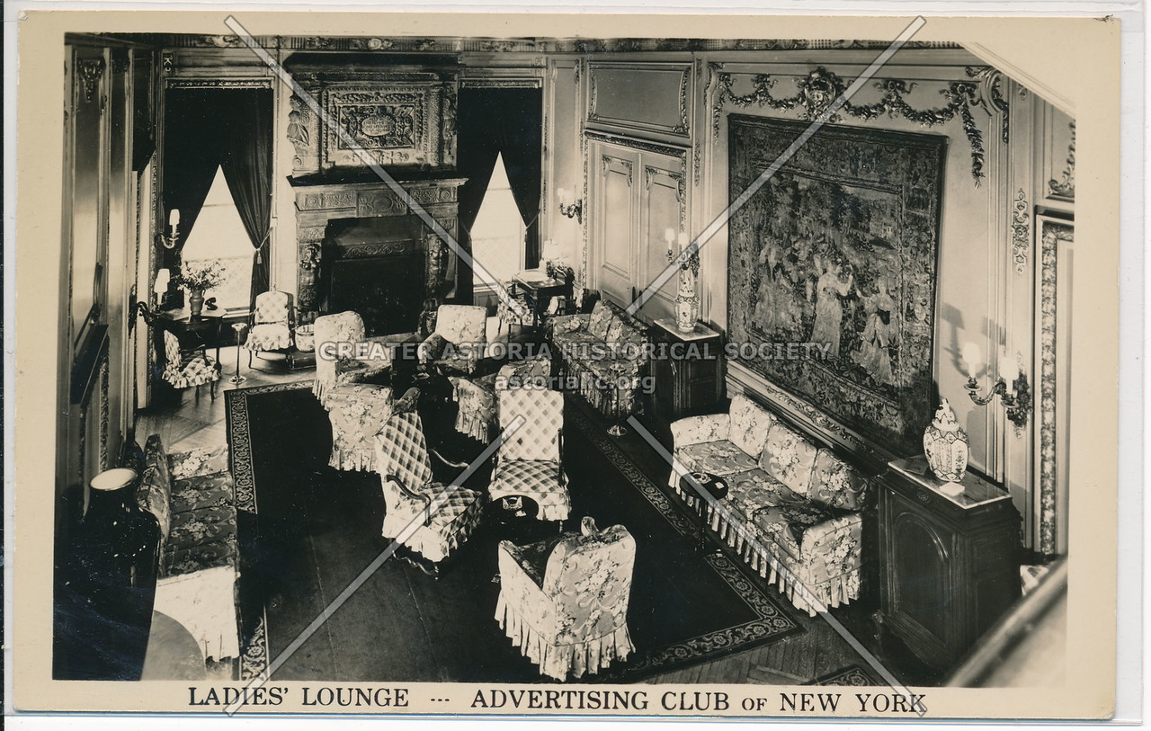 Ladies' Lounge, Advertising Club Of New York