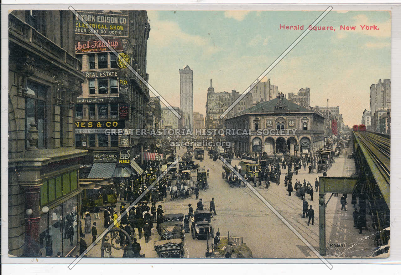 Herald Square, New York.