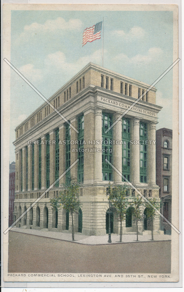 Packard Commercial School, Lexington Ave. And 35th St., New York