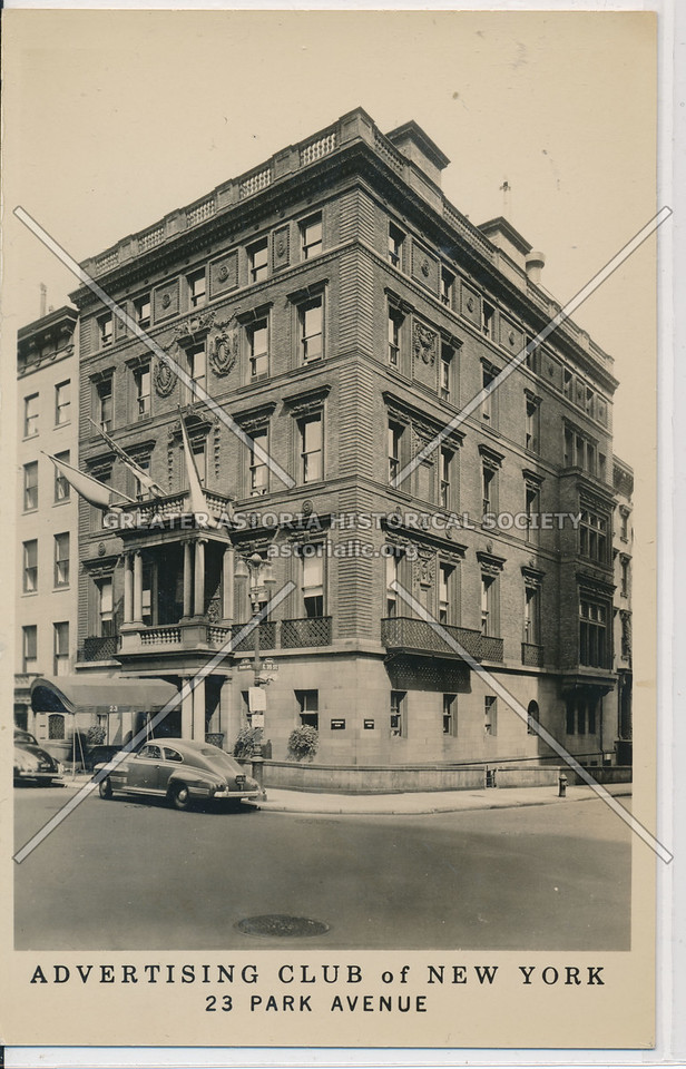 Advertising Club of New York, 23 Park Avenue