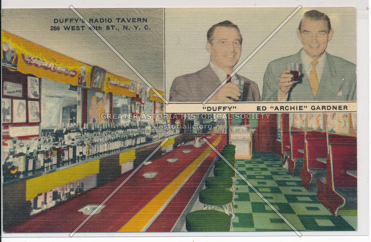 Duffy's Radio Tavern, 269 W 40 St, NYC