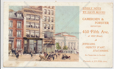 Cameron & Forster Jewelrs, 450 5th Ave, NYC
