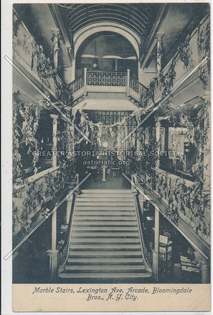 Marble Stairs, Bloomingdales, 59 St & Lex Ave, NYC