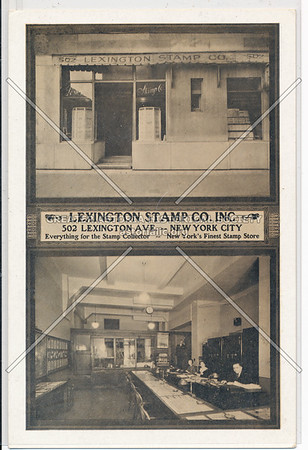 Lexington Stamp Co, 502 Lexington Ave, NYC