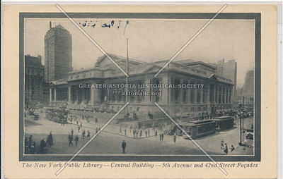 NY Public Library, 42nd St, NYC