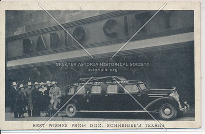 Doc Schneiders Texans at Radio City