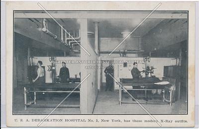 X-Ray, Debarkation Hospital, Lex & 46 St, NYC