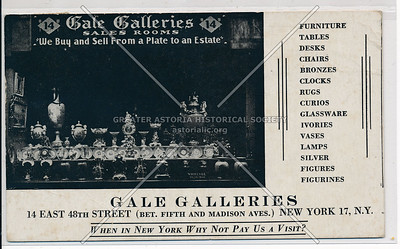 Gale Galleries, 14 E 48 St, NYC