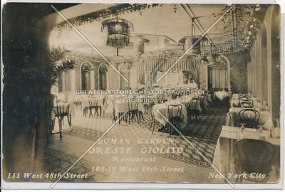 Oreste Giolito Restaurant, 108 W 49 St, NYC