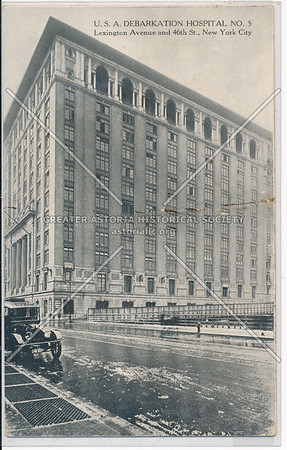 Debarkation Hospital, Lex & 46 St, NYC