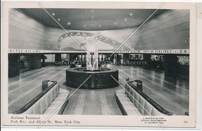Airlines Terminal Building, 42nd St, NYC