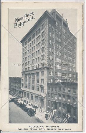 NY Polyclinic Med School & Hospital, 341 W 50  St, NYC