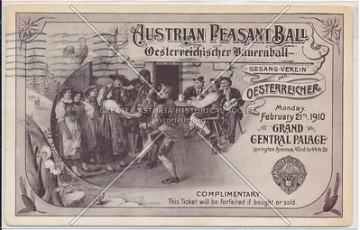 Austrian Peasant Bar, Grand Central Palace, NYC