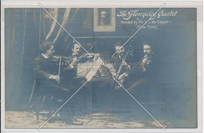 The Flonzaley Quartet, NY