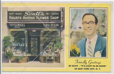 Fourth Avenue Flower Shop, 295 4th Ave, NYC