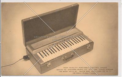 Portable Organ, Eastern Music Co, 155 W 46 St, NYC