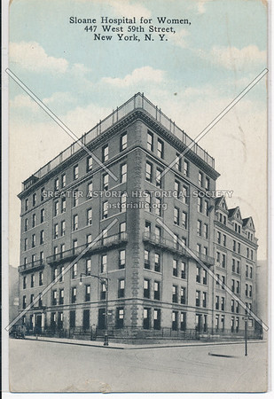 Sloane Hospital for Women, 447 W 59 St, NYC