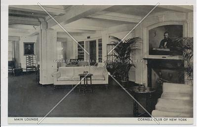 Main Lounge, Cornell Club of NYC