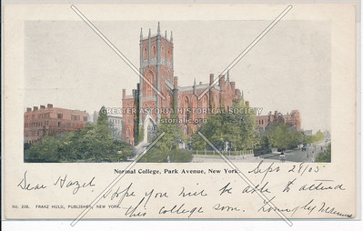 Normal (Hunter) College, NYC (1905)