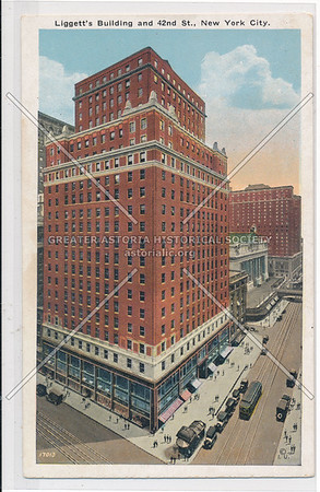 Liggetts Building, 42 St, NYC
