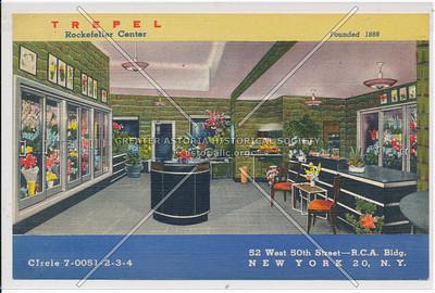 Trepel, Rockefeller Center, 52 W 50 St, NYC