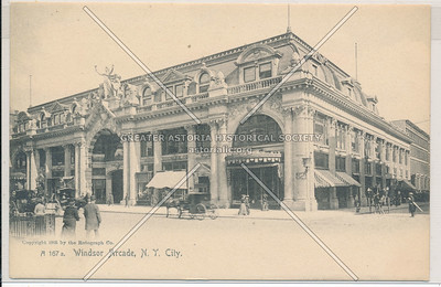 Windsor Arcade, 5th Ave & 46 St, NYC