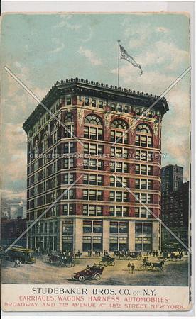Studebaker Bros, 46 St & 7 Av, NYC