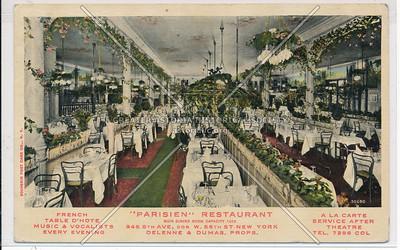 Parisien Restaurant, 945 8 Av, NYC