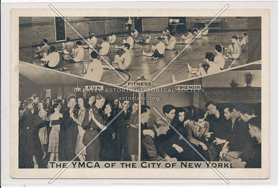 """YMCA of NYC, Grand Central RR Br, 22 E 47 St, NYC """"Home at the end of the Run"""""""