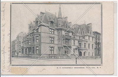 Vanderbilt Residence, 5th Ave, NYC