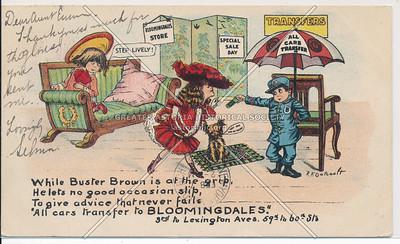 Buster Brown, Bloomingdales, 59 St & Lex Ave, NYC